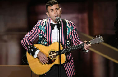 HOLLYWOOD, CA - MARCH 04: Recording artist Sufjan Stevens performs onstage during the 90th Annual Academy Awards at the Dolby Theatre at Hollywood & Highland Center on March 4, 2018 in Hollywood, California. (Photo by Kevin Winter/Getty Images)