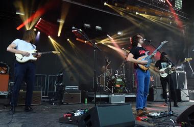 May 6, 2018; Atlanta, GA, USA; Post Animal performs during the 2018 Shaky Knees Music Festival at Central Park. Mandatory Credit: Adam Hagy-USA TODAY Sports