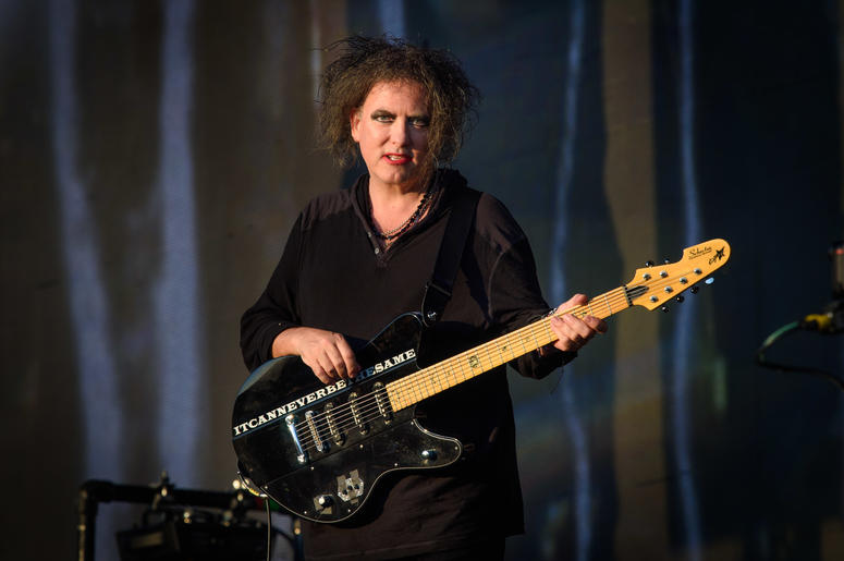 7/7/2018 - Robert Smith of The Cure performing at the British Summer Time festival at Hyde Park in London. (Photo by PA Images/Sipa USA) *** US Rights Only ***