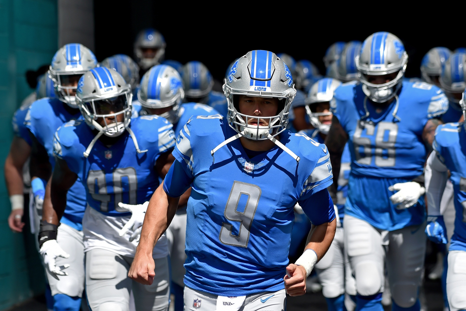 After Wife's Brain Surgery, Stafford 'Happy' To Be Back On Field With Lions