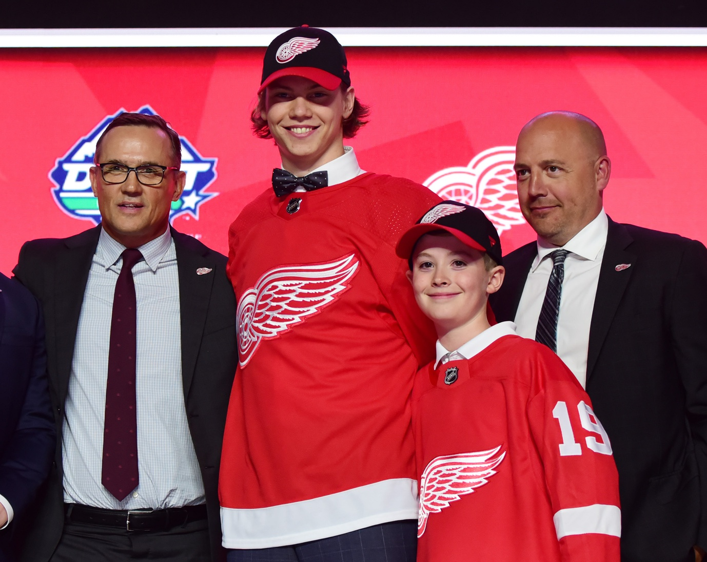"""Yzerman Says Wings Didn't Reach For Seider: """"We Had Him Right At Six"""