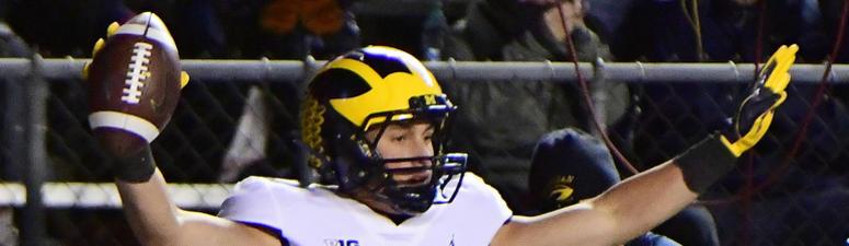 Michigan WR Oliver Martin Reportedly Transferring To Iowa