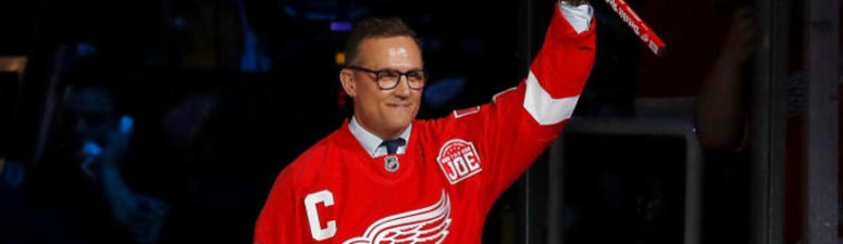 WATCH AND LISTEN LIVE: Steve Yzerman Announced As New Red Wings' GM
