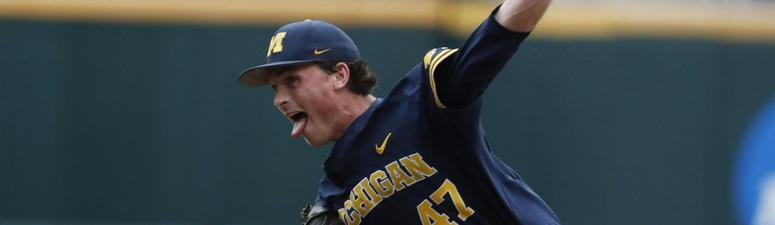 Michigan Rides Henry's 3-Hitter To 2-0 Win Over FSU At CWS