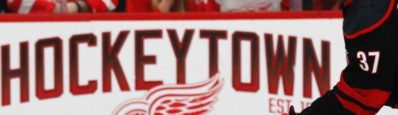 Red Wings And Fans Put Hurricanes In Place For Claiming 'Hockey Town' Title