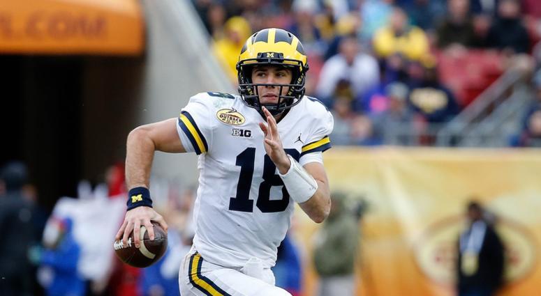 Former Michigan QB Brandon Peters Announces He's Transferring To Illinois