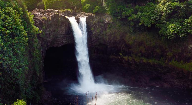 Waterfall fall, GoPro