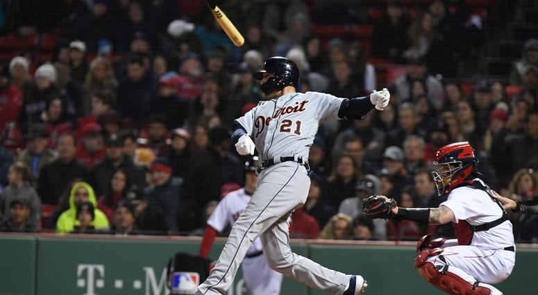 Tigers Beat Red Sox 4-2, Complete DH Sweep