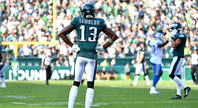 Eagles WR Reaches Out To Man Who Caught Kids From Burning Building, 'Unlike Agholor'