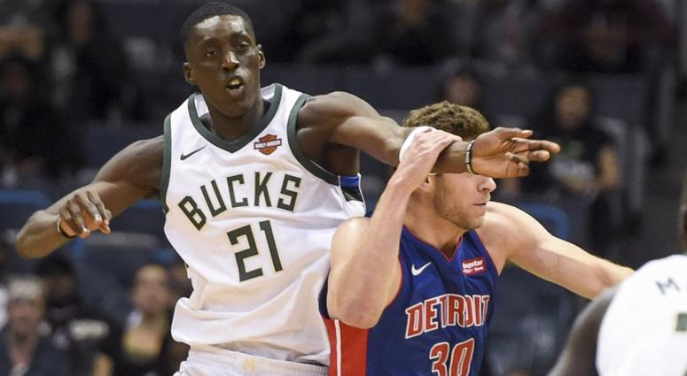 Report: Pistons Trade Leuer To Bucks For Tony Snell, 30th Pick