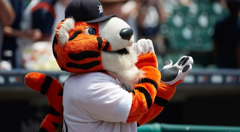 promo code 26247 37614 Tigers Mascot PAWS To Deliver Personalized Majestic Detroit ...