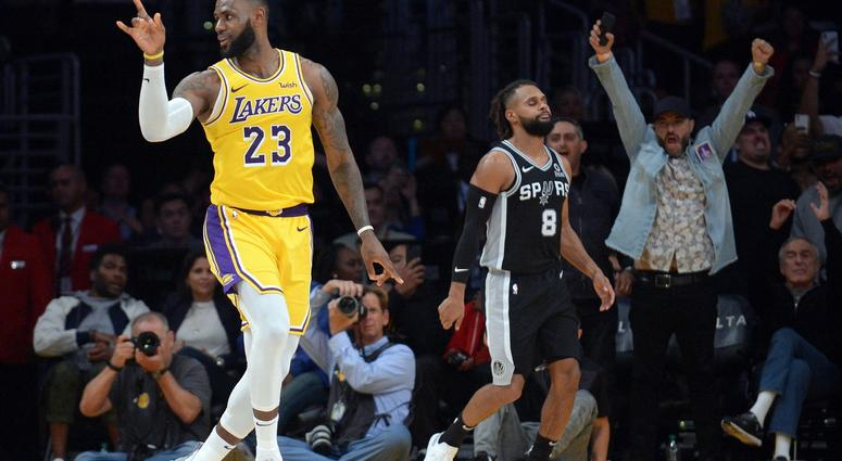 1e650f508 Spurs Rally To Keep Lakers Winless With LeBron