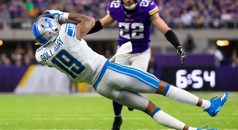 sale retailer bc278 7240f Lions Neglecting Kenny Golladay, Plain And Simple | 97.1 The ...