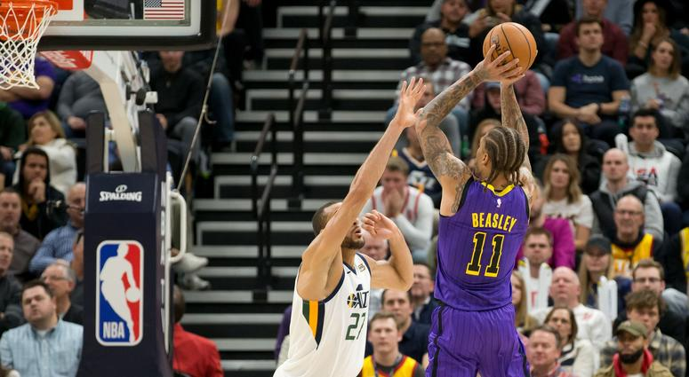 16dc7546fd3 Lakers  Michael Beasley Tried To Enter Game Wearing Practice Shorts  VIDEO