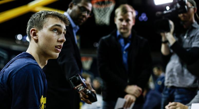 Michigan Basketball Has A 'Rain Man' In Franz Wagner