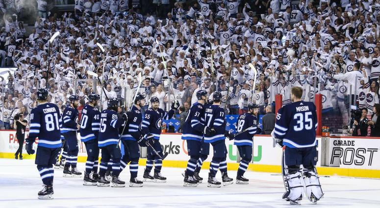 0ffe58aa972 White Out Conditions: Jets Take 1-0 Series Lead Over Vegas | 97.1 ...