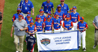 Great Lakes Region Champion Little League team from Bowling Green, Ky.