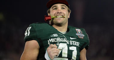 Michigan State's Rose Bowl Hero Is All For Michigan Winning -- Here's Why