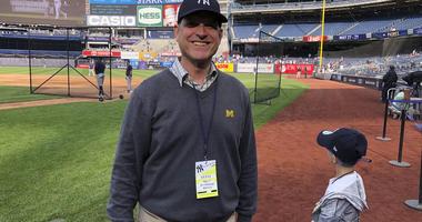 3 Generations Of Harbaughs Make 1st Visit To Yankee Stadium