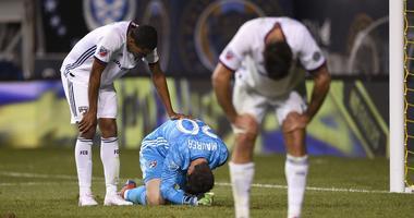 Soccer Injury, Warning Gator Graphic