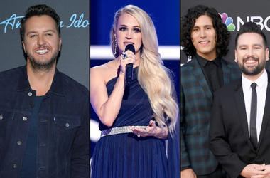 Luke Bryan, Carrie Underwood, Dan and Shay