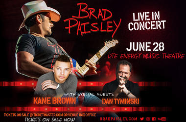 Brad Paisley On Sale Now