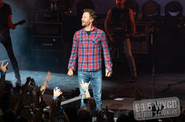 Dierks Bentley, DTE Energy Music Theatre
