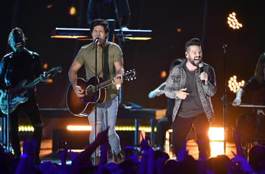 Dan and Shay performs during the CMT Music Awards
