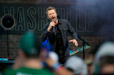 Dierks Bentley performs in concert following the NFL Draft and the St. Jude Rock 'n' Roll Nashville Marathon, 1/2 Marathon & 5K on April 27, 2019 in Nashville, Tennessee