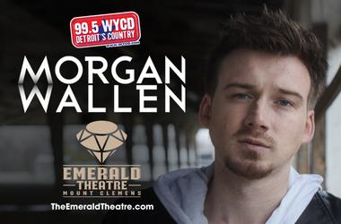 Morgan Wallen @ The Emerald Theatre 09.06.18