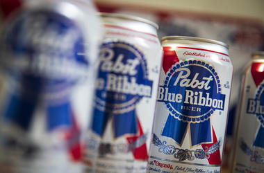 Cans of PBR
