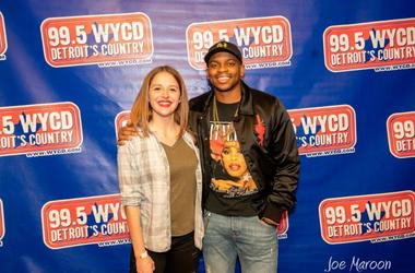 Jimmie Allen @ 99.5 WYCD's 2019 Ten Man Jam