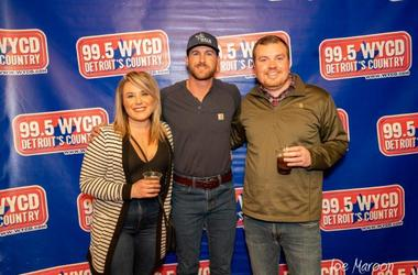 Riley Green @ 99.5 WYCD's 2019 Ten Man Jam