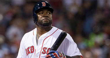 David Ortiz #34 of the Boston Red Sox walks towards the dugout during the sixth inning of a game against the New York Yankees at Fenway Park on September 18, 2016 in Boston, Massachusetts.