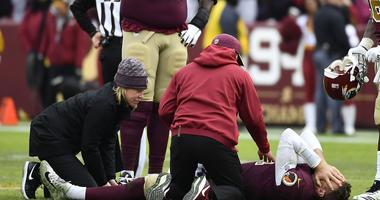 Redskins QB Alex Smith sheds leg brace 8 months after injury