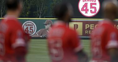 We're playing for him: Angels honor Skaggs with amazing game