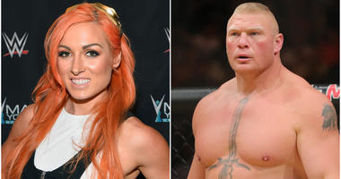 Becky Lynch and Brock Lesnar are scheduled to participate at WWE's WrestleMania 35