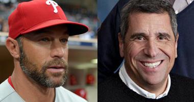 Philadelphia Phillies manager Gabe Kapler and WIP host Angelo Cataldi