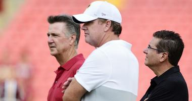 Jay Gruden Speaks About Redskins Culture, Drafting Haskins