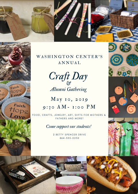 Washington Center School Craft Day