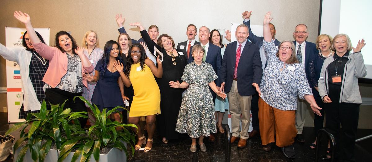 Greenville Women Giving 2019 ceremony