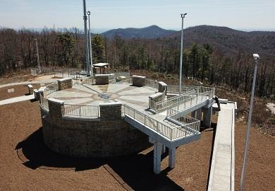 Sassafras Mountain Tower,
