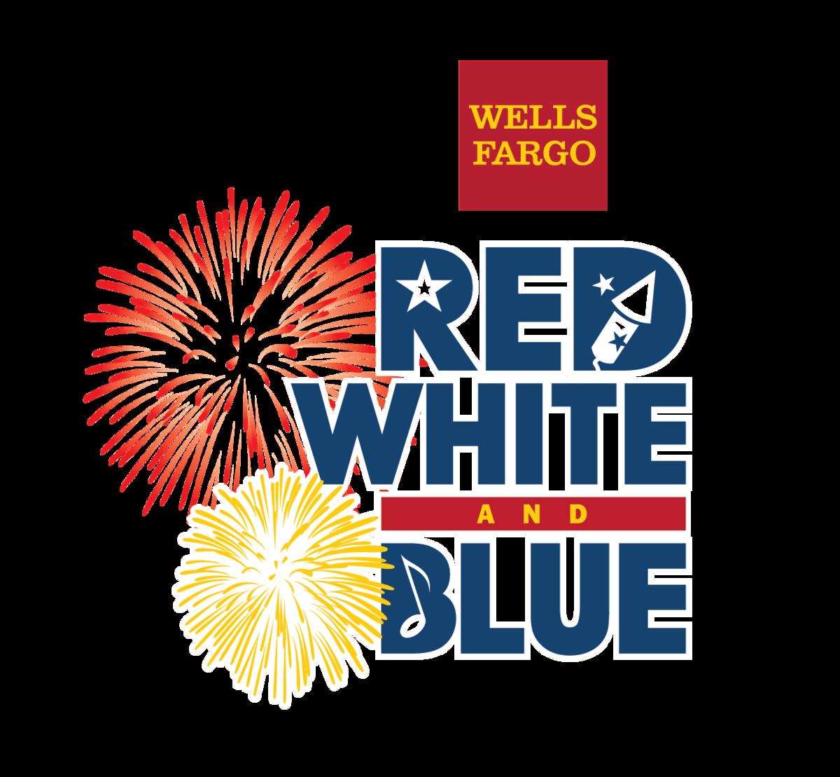 Wells Fargo Red, White & Blue