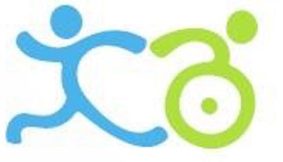 Washington Center Run Walk and Roll logo