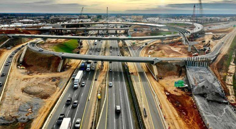 85-385 Gateway Project construction