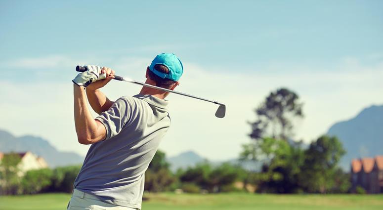 Golfer, golfing, golf