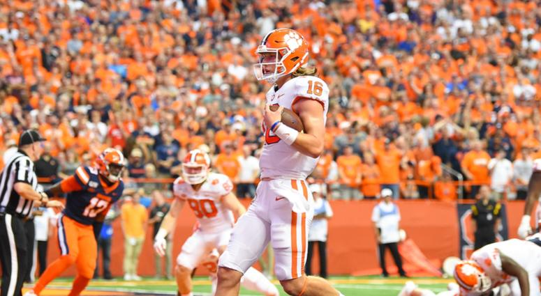 Lawrence Leads Clemson Past Syracuse