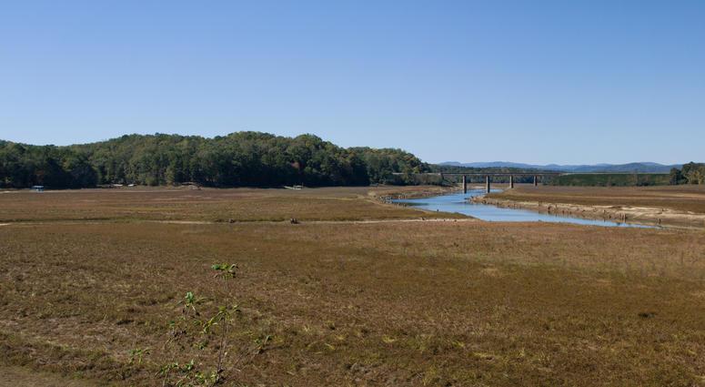 Drought at Lake Hartwell
