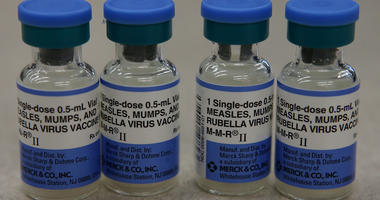 Measles outbreak vaccine