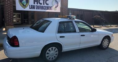 Retired Patrol Vehicle Donated to Students